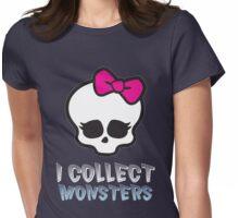 Monster Collector - Monster High Doll Shirt Dark Womens Fitted T-Shirt