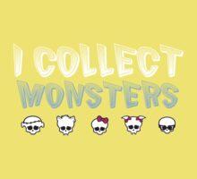 I Collect Monster High Dolls - Monster High T-Shirt Dark Kids Tee