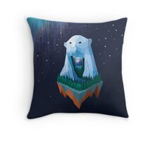 North Point Singularity (Pixel Art) Throw Pillow