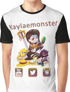 Kayla_social icons Graphic T-Shirt