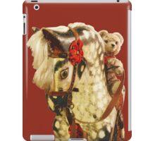 Nursery Toys: Teddy Bear Rides Rocking Horse iPad Case/Skin