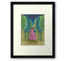 Piggy Wiggy and the Bong Bong Trees Framed Print