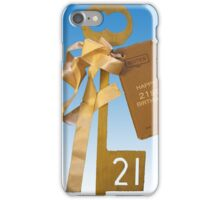 Vintage 21st Birthday Photograph iPhone Case/Skin