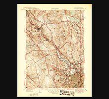 USGS TOPO Map Rhode Island RI Pawtucket 353436 1944 31680 Unisex T-Shirt