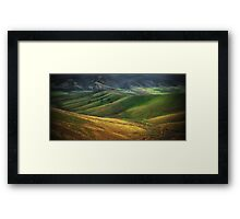 Countryside near Omeo Framed Print