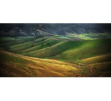 Countryside near Omeo Photographic Print