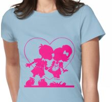 too cute for words Womens Fitted T-Shirt