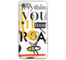 Picasso quote d8 iPhone Case/Skin