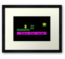 Make the Leap Framed Print