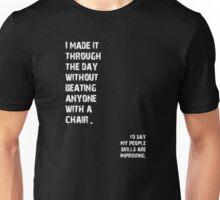Improved People Skills Unisex T-Shirt