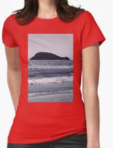 Zakynthos Greek beach amazing landscape Womens Fitted T-Shirt