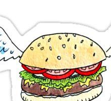 Greasy Angels & Burgers Sticker