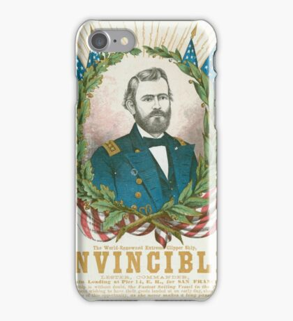 Rattler Pro-Union imagery fills an  iPhone Case/Skin
