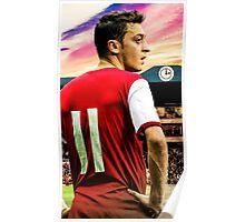 Vintage Mesut Ozil Poster