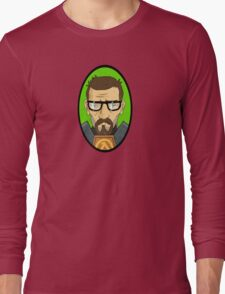 Half Life Gordon Freeman Long Sleeve T-Shirt