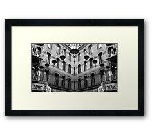 Cinatown Mosaic Framed Print