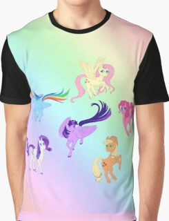 Mane 6 - All Together Now Graphic T-Shirt