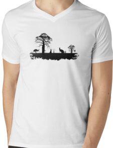 Outback Australia Mens V-Neck T-Shirt