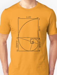 The Golden Spiral T-Shirt