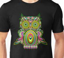 Owl Psychedelic Pop Art Unisex T-Shirt