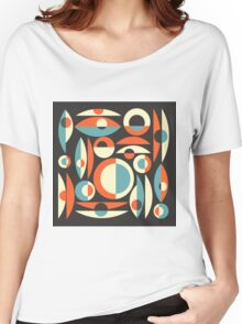 Retro Eames Era  Pisces Women's Relaxed Fit T-Shirt