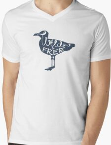 Seagulls Mens V-Neck T-Shirt