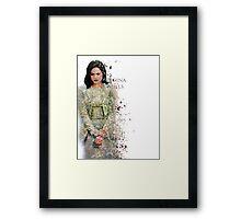 Regina Framed Print