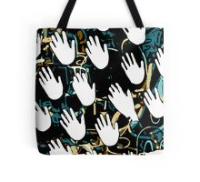 Hands all over Tote Bag