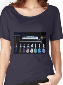 Strings and Keys Women's Relaxed Fit T-Shirt