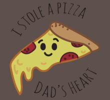I'm Dad's Favourite Slice Baby Tee