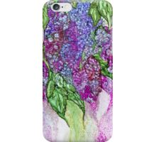 Lilacs Flowing iPhone Case/Skin