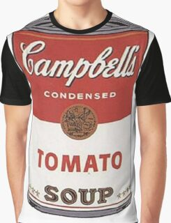 andy warhol campbell's soup Graphic T-Shirt