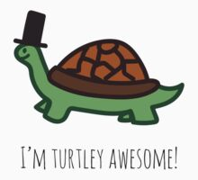 Turtley Awesome Kids Tee