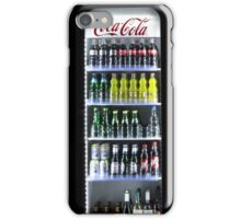 Soft Drinks Cabinet iPhone Case/Skin