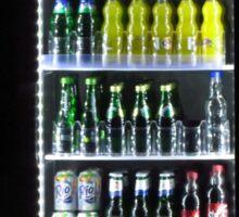 Soft Drinks Cabinet Sticker