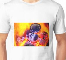 bright flame of fire Unisex T-Shirt