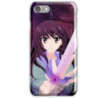 Girl with the sword iPhone Case/Skin