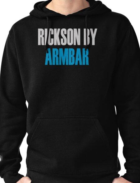Rickson By Armbar (Brazilian Jiu Jitsu) Pullover Hoodie