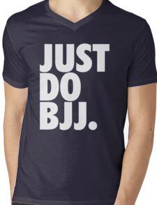 Just Do BJJ (Brazilian Jiu Jitsu) Mens V-Neck T-Shirt