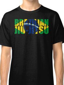 Brazilian Jiu Jitsu Flag (BJJ) Classic T-Shirt