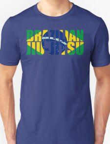 Brazilian Jiu Jitsu Flag (BJJ) Unisex T-Shirt