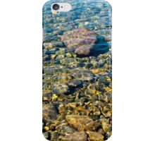 Clear water forest lake iPhone Case/Skin