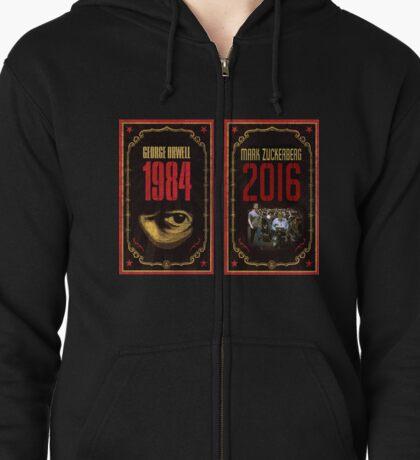 Mark Zuckberg - 1984 Zipped Hoodie