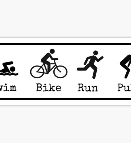 Triathlon Sticker