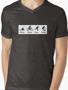 Triathlon Mens V-Neck T-Shirt