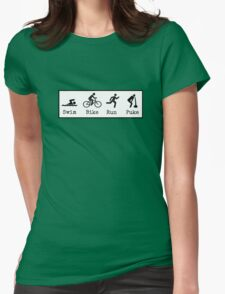 Triathlon Womens Fitted T-Shirt