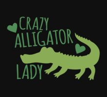 Crazy Alligator Lady One Piece - Short Sleeve