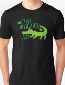 Crazy Alligator Lady T-Shirt