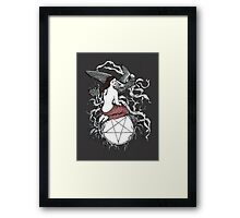 Satan Girl Framed Print