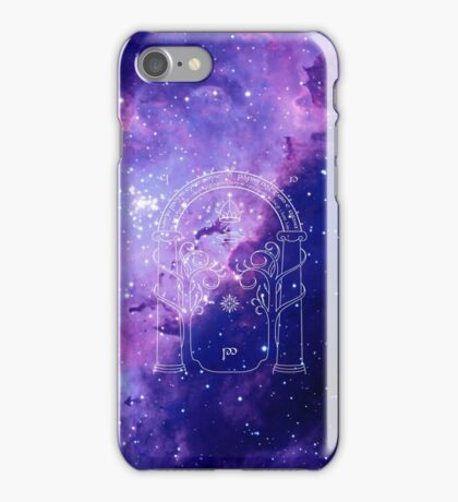 The gate to another world iPhone Case/Skin